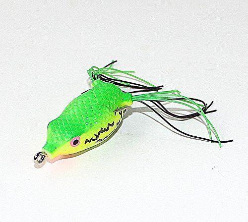 Gummi Wobbler Köder Wobbler CRANK FROG // Frosch floating Frosch2 Gummifisch