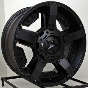 Image Is Loading 20 Inch All Black Wheels Rims Jeep Wrangler