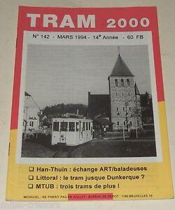 TRAM-2000-N-142-Mars-1994-TRAMWAY-AUTOBUS-STIB-TEC-De-LIJN