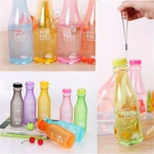 Multicolor Outdoor Sports Travel Water Bottle Portable Leak-proof  Water Cup HZ