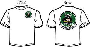 VFA-125 Rough Raiders Squadron T-Shirt - Green Logo