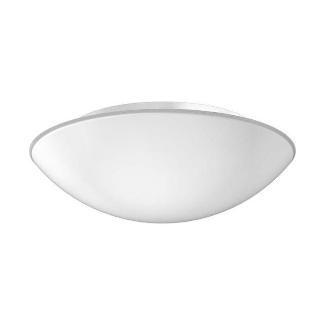 RZB Decken- und Wandleuchte Flat Basic 2x E27 60W D 370 H 118 Glas opal matt