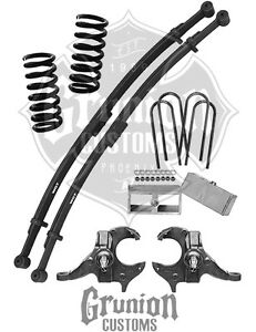 chevy s10 1982 2003 4 5 lowering kit gmc s15 sonoma mcgaughys Colorado Extended Cab image is loading chevy s10 1982 2003 4 5 lowering kit