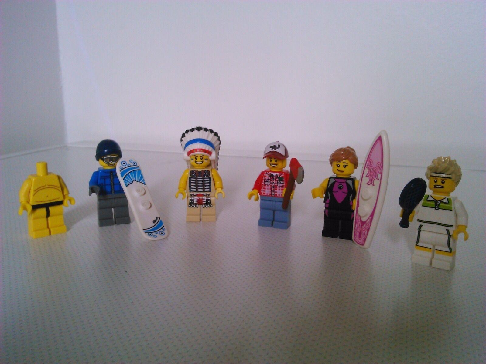 Lego minifigures série 3 ,4 ,5,7
