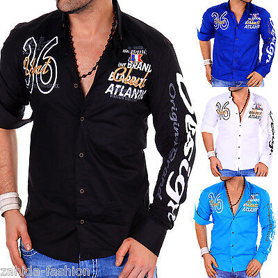 Camisas Y Polos Orderly Manga Larga Hombres Camisa Camiseta Slim Fit Club Yachting Polo L.5.16 Delicious In Taste