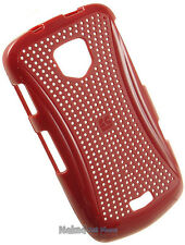 NEW RED XMATRIX HARD CASE COVER FOR VERIZON SAMSUNG DROID CHARGE 4G i510 PHONE