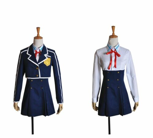 Sword Art Online Alfheim Online Asuna Yuki Cosplay Costume School Uniform