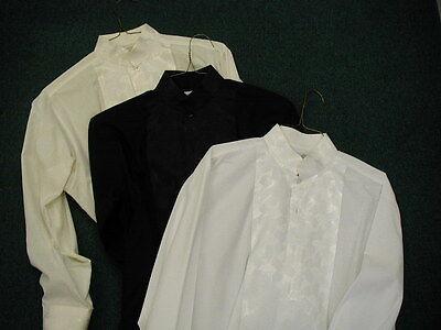 Men's Collarless Formal Shirt Oscar De Laurenta Fancy