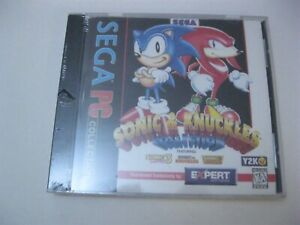 Sega Sonic Knuckles Collection New Sealed Pc Cd Rom Ebay