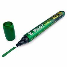 Pilot SCA400 Chisel Tip Permanent Marker Pen - 1.5mm-4.0mm Line - Green - Single