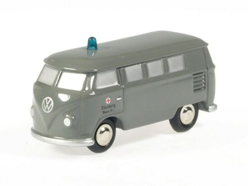 "Schuco Piccolo VW T1 Bus /""BRK grau/"" # 50131009"
