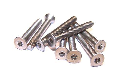 DIN 7991 Senkschrauben mit Innensechskant Edelstahl A2-70    M6    20 bis 50 mm