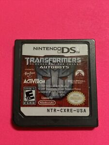 🔥 Transformers: Autobots (Nintendo DS, 2007) Nintendo 2DS 💯 WORKING - FUN GAME