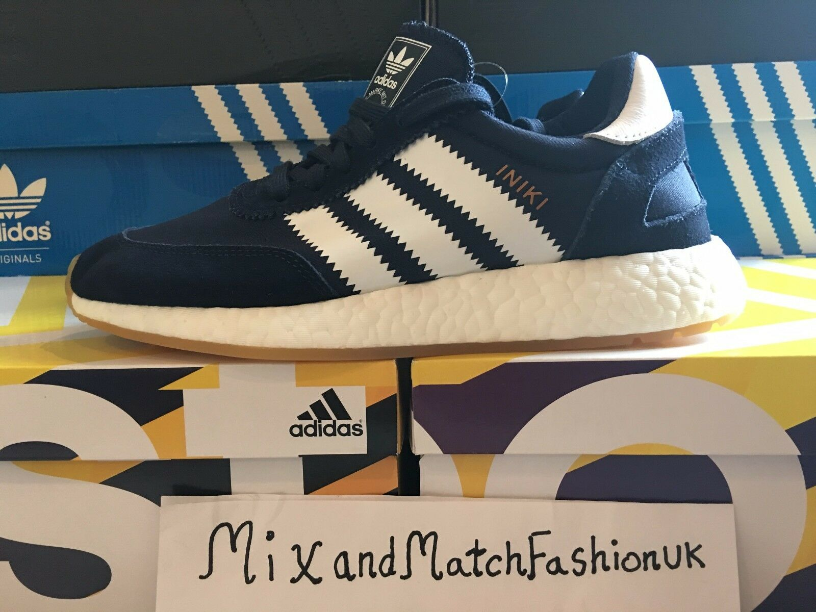 Adidas INIKI Runner Boost Collegiate Navy Blue Blue Navy BY9729 20628f