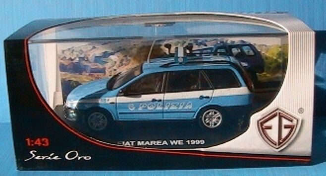 FIAT MAREA WEEK END 1999 POLIZIA EDISON EG ITALIA 1 43 NEW SERIE or POLICE
