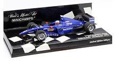 Minichamps Prost AP02 1st F1 Test Barcelona 1999 - Jenson Button 1/43 Scale