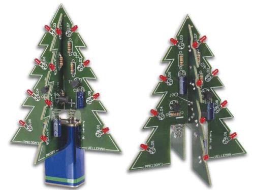 VELLEMAN MK130 3D XMAS TREE DIY KIT soldering kit