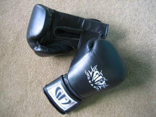 GFY Leather Boxing Muay Thai Glove Kids 8oz 10oz Adult 12oz 14oz 16oz 18oz