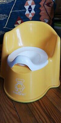 jaune ONEDONE Portable B/éb/é Enfant Potty Urinoir toilettes durgence pour Camping Car Voyage et formation Kid Potty Pee