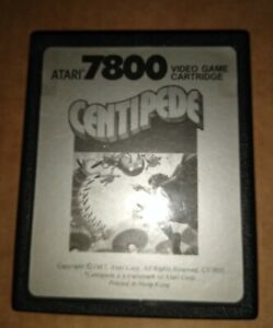 CENTIPEDE ! FOR ATARI 7800 ! PAL ! CARTRIDGE ONLY ! TESTED !