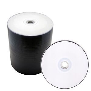 500-White-Inkjet-Hub-Printable-DVD-R-16x-Blank-Disc-Video-Wholesale-Bulk