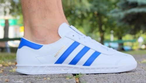 NEW MENS ADIDAS HAMBURG SNEAKERS BY9758-SHOES-SIZE 7.5