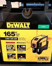 New Dewalt Dw0851 Self Leveling Spot Beams And Horizontal Line 5 Dot Red Laser