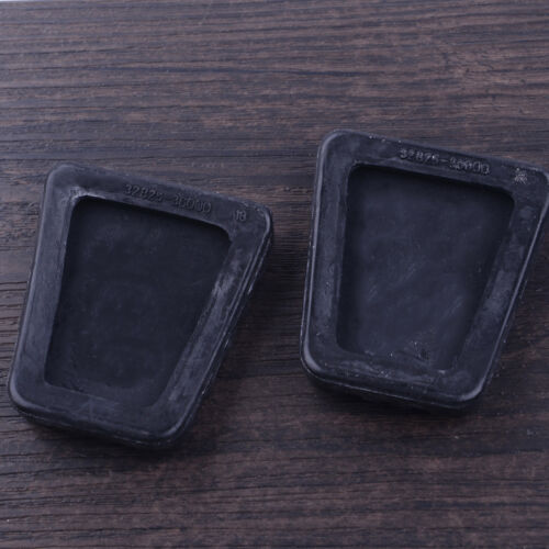 2PCS Clutch Brake Pedal Rubber Pad Cover 32825-36000 For Kia Rio Soul Sorento