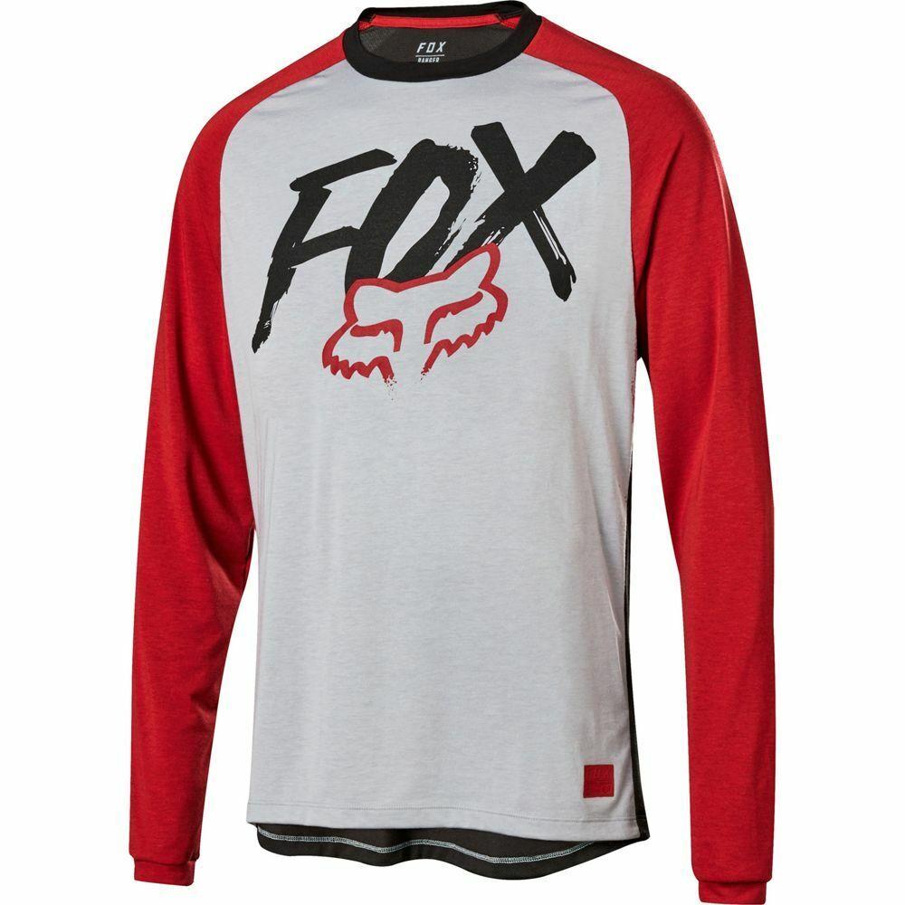 Fox Racing 2019 Ranger Dri-Release Fox manche longue L S Jersey Steel gris