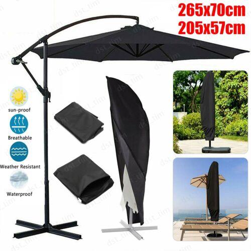 Heavy Duty Outdoor Patio Umbrella Protective Cover Bag Waterproof Canopy 7-11/'ft