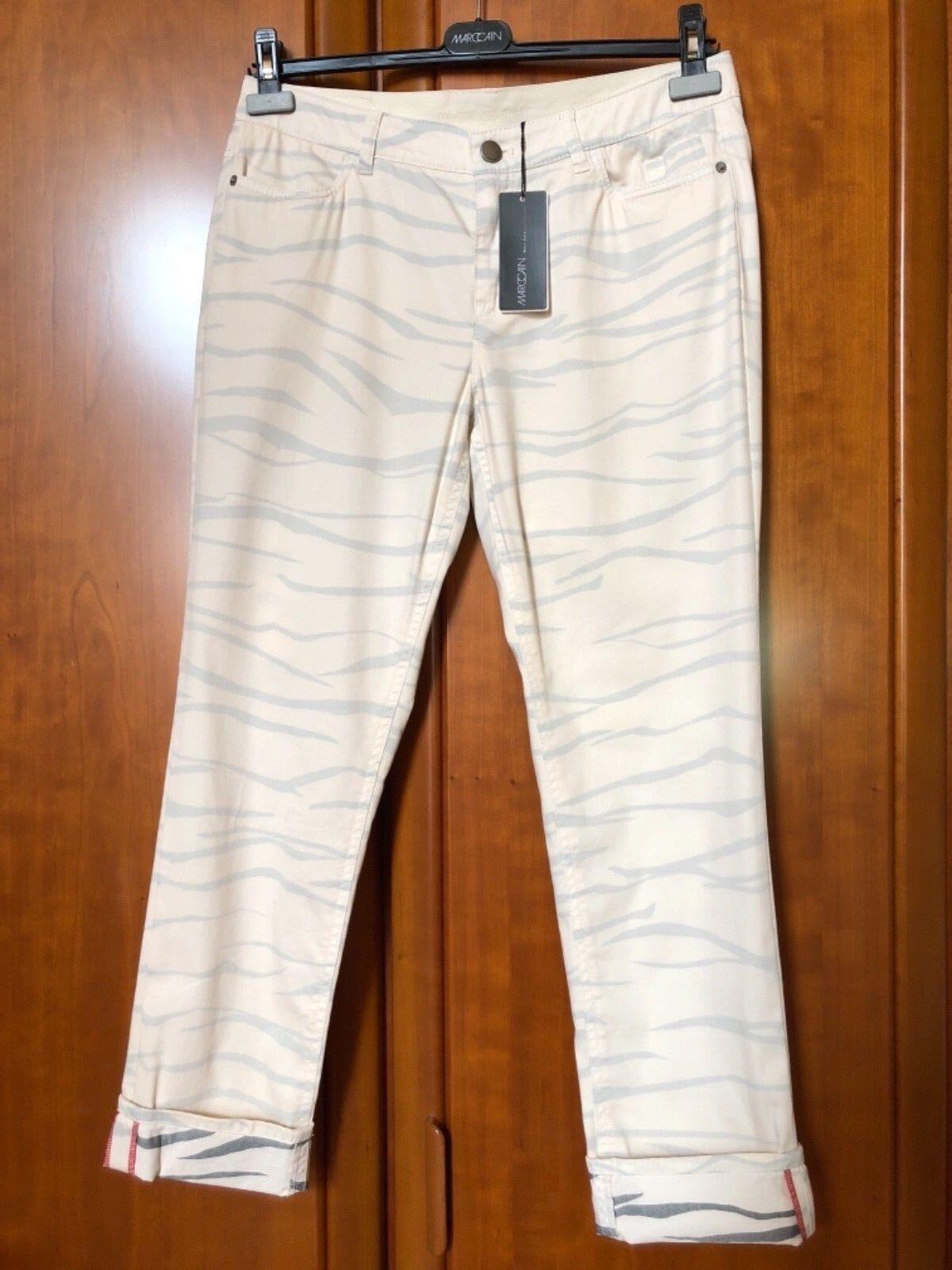 Marc Cain Hose Jeans cremefb. N4 -40- -40- -40- NEU 71eff3