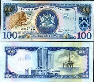 TRINIDAD-amp-TOBAGO-100-DOLLARS-2006-P-51-UNC