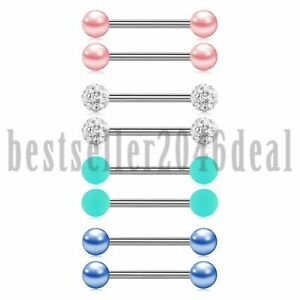 8PCS-Surgical-Steel-CZ-Nipplerings-Barbells-Nipple-Tongue-Ring-Body-Piercing-14G