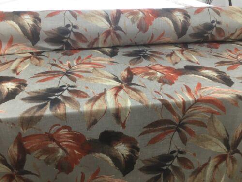 Velvet selva palmeras Hojas digital para cortina de terciopelo suave//Tela de tapicería