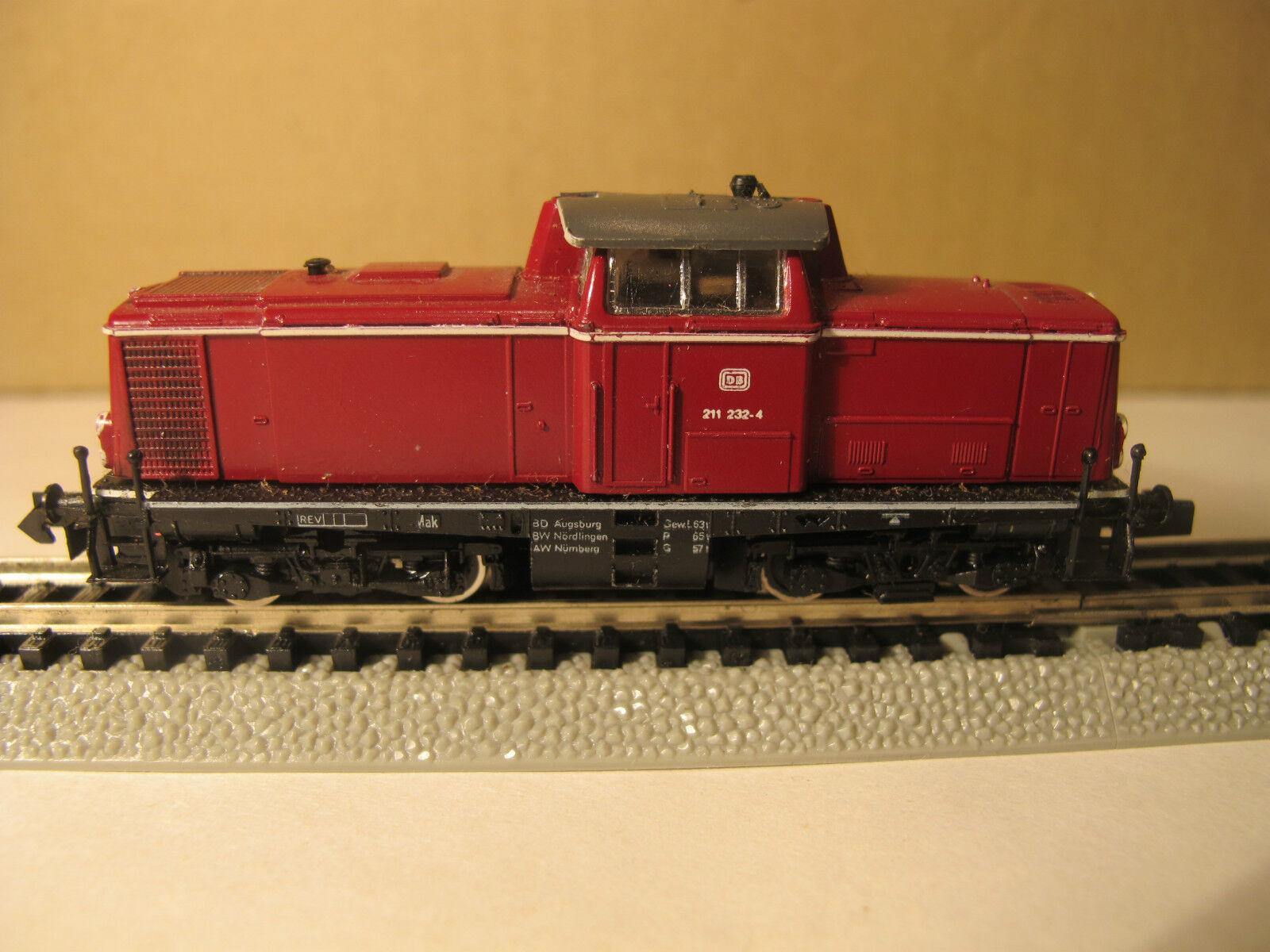 Arnold Rapido locodiesel 4 assi DB, scala N
