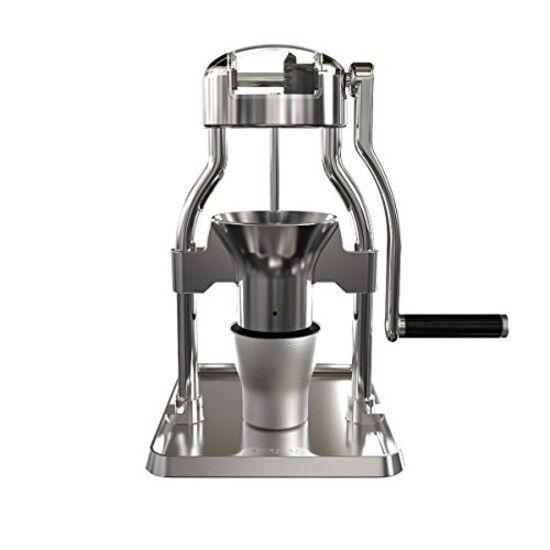 Manuel Burr Moulin à café en acier inoxydable Aluminium Portable Réglable Durable