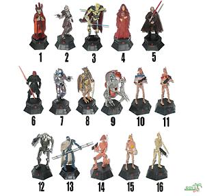 Serie 2 Sith /& Separatists DeAGOSTINI STAR WARS Schach Ersatz-Figuren 1:24