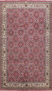 Geometric-Hand-knotted-Kashaan-Oriental-Area-Rug-Living-Room-Wool-Carpet-7-039-x10-039