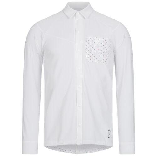 PUMA x STAPLE NTRVL Herren Oberteil Tech Poloshirt Hemd 573131 schwarz weiß neu