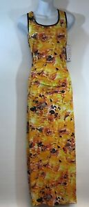 Tango-Mango-Yellow-and-Red-Mixed-Maxi-Dress