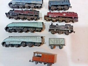 Adaptable Vintage Lone Star T000 , Locomotives, Locos & Wagons In Metal All Items Shown Moins Cher