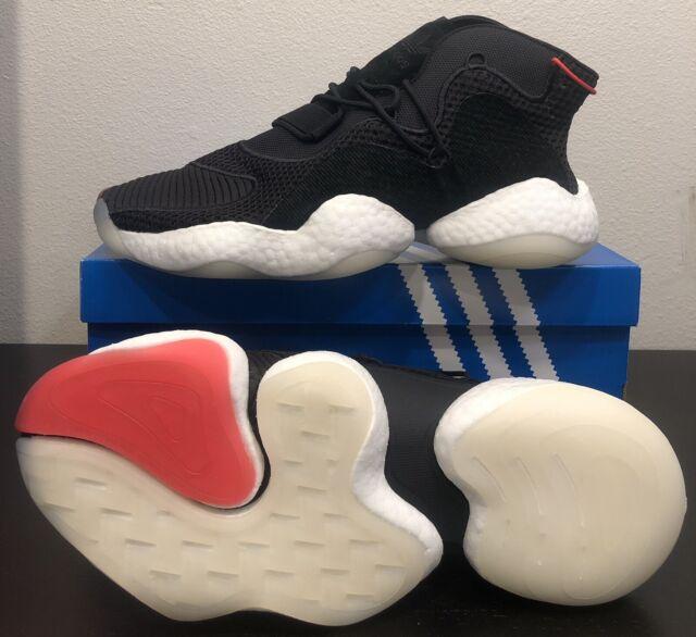 meet 2d4fe a656a NEW Adidas Originals Crazy Byw Boost You Wear B-ball Black White Red B37480  Sz11