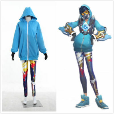 Tracer graffiti skin cosplay