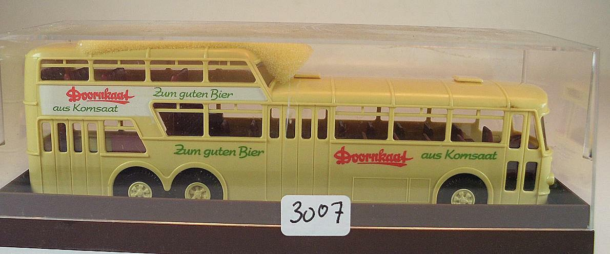 Brekina 1 87 Büssing eineinhalbdecker autobuses Osnabrück doornkaat OVP