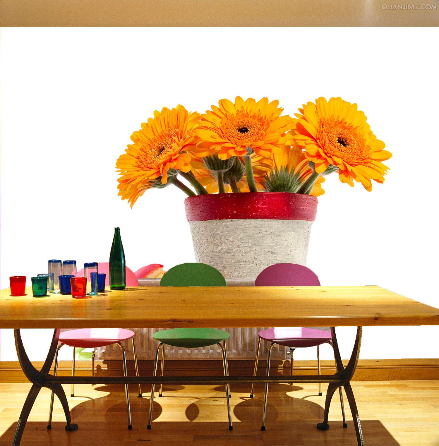 3D Mega Beautiful Flowers Vas372 Wall Paper Wall Print Decal Wall AJ Wall Paper