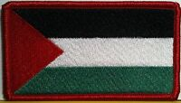 Palestine Flag Military Patch With Velcro® Brand Fastener Red Emblem 8