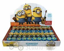 Despicable Me Minions Self Inking Stamps for Kids Goodies Party Favor 60pc Stamp