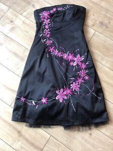 e9bd4e61 JANE NORMAN Dress Black Purple/pink Sequins. Size 12 Prom/occasion ...
