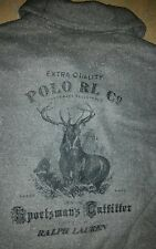 Ralph Lauren Polo Sportsman Outfitter RRL Country PRLC Elk Hunter Grey Jacket Lg