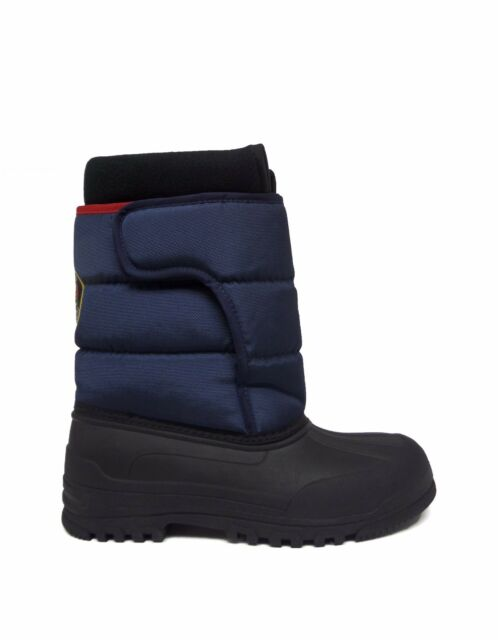 5d28dd566 Polo Ralph Lauren Junior Big Kids HAMILTEN II EZ Winter Boot Navy Red  992383J a1